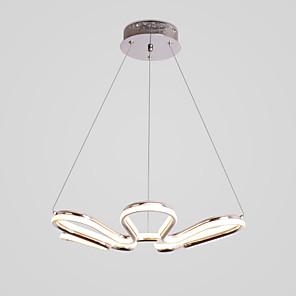 povoljno Dizajn kruga-CONTRACTED LED® 53.5 cm Kreativan / New Design Lusteri Aluminij sputnjik / Noviteti Slikano završi LED / Moderna 110-120V / 220-240V