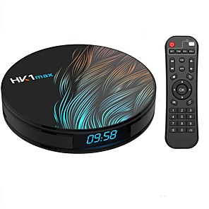 cheap TV Boxes-HK1 MAX Android 9.0 RK3328 4GB 32GB Quad Core
