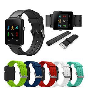 cheap Smartwatch Bands-Sport Silicone Wristband Wrist Strap Watch band For Garmin Vivoactive Acetate Smart Watch