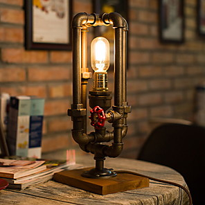 cheap Desk Lamps-Table Lamp Artistic For Indoor Metal