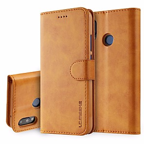 cheap Cycling Jersey & Shorts / Pants Sets-Leather flip case for huawei P20/ P20 pro/ P30 /P30 lite /P30 pro huawei phone case for huawei pro flip cases cover wallet card holder book