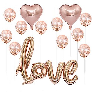 cheap Wedding Decorations-Holiday Decorations Holidays & Greeting Decorative Objects Transparent Pink 1pc