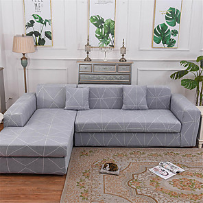 cheap Sofa Cover-Sofa Cover Stretch Cheap Couch Cover 1 Piece Soft Durable Slipcovers Spandex Jacquard Fabric Washable Furniture Protector Armchair Loveseat L-shape