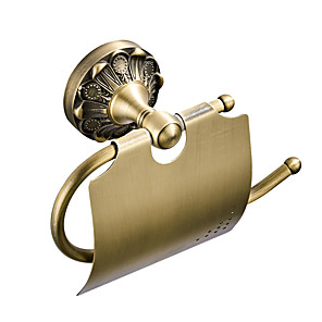 cheap Faucet Accessories-Toilet Paper Holder New Design Antique / Country Brass 1pc - Bathroom / Hotel bath Wall Mounted
