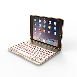 cheap iPad Keyboards-Bluetooth Mechanical Keyboard / Office Keyboard Rechargeable / Covers / Slim For iPad mini 4 / iOS Bluetooth3.0