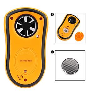 cheap Testers & Detectors-RZ GM8908 Portable Anemometer Anemometro Thermometer Wind Speed Gauge Meter Windmeter 30m/s LCD Digital Hand-held Measure tool