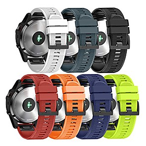 cheap Smartwatch Bands-Watch Band for Fenix 5 Plus / Garmin Quatix 5 Sapphire / Forerunner 935 Garmin Sport Band Silicone Wrist Strap