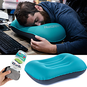 cheap Sleeping Bags & Camp Bedding-Naturehike Ultralight Inflating Travel Pillow / Camping Pillow Outdoor Camping Portable, Foldable TPU / Polyester Camping / Hiking, Traveling, Outdoor for Neck & Lumbar Support 1 person