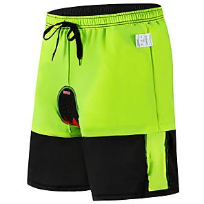 cheap Running Bags-WOSAWE Men's Cycling Padded Shorts Downhill Shorts Cycling MTB Shorts Bike Padded Shorts / Chamois MTB Shorts Breathable 3D Pad Moisture Wicking Sports Black Mountain Bike MTB Road Bike Cycling