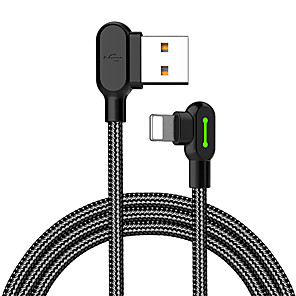 cheap USB Flash Drives-Mcdodo Lightning Cable 1.8m(6Ft) Braided / Quick Charge Nylon USB Cable Adapter For iPhone
