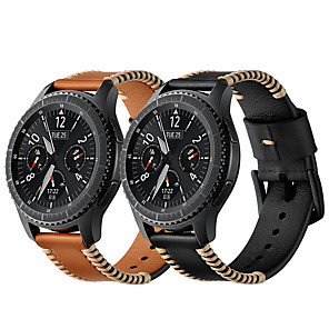 cheap Smartwatch Bands-Watch Band for Samsung Galaxy Watch 46 / Samsung Galaxy Watch 42 Samsung Galaxy Modern Buckle Genuine Leather Wrist Strap