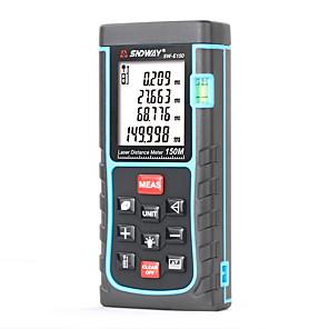cheap Level Measuring Instruments-SNDWAY SW-E150 Laser Distance Meter 150M laser Rangefinder Tape Measure Distance/Area/volume diastimeter Range Finder tester tools