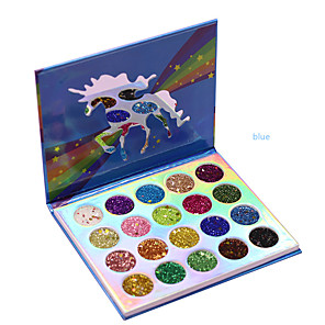 cheap Eyeshadows-20 Colors Eyeshadow Eyeshadow Palette Shimmer Cosmetic EyeShadow Easy to Carry lasting Portable Long Lasting Daily Makeup Party Makeup Cosmetic Gift