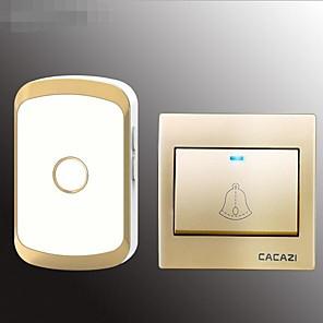 cheap Doorbell Systems-Home Doorbell One For One Wireless Ac Doorbell 86 Box Electronic Doorbell Waterproof Old Caller Board