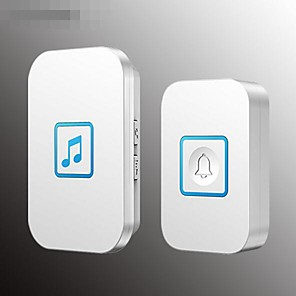 cheap Doorbell Systems-Music electronic remote control Ding Dong exchange one for one wireless doorbell