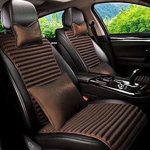 cheap Car DVR-Car Seat Covers Headrest & Waist Cushion Kits Purple / Coffee / Blue Leather Sports For universal
