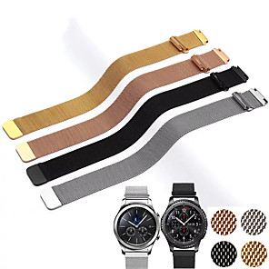 cheap iPhone Cases-20MM 22MM band for Samsung Galaxy Watch Active 42mm 46mm Gear Sport S2 S3 Milanese Loop for Amazfit Bip 18mm huawei watch1 Strap