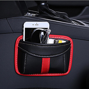 cheap Steering Wheel Covers-Paste Type Car Seat Crevice Storage Bag Protable Seat Back Consle Organizer Box Seat Slit Pocket