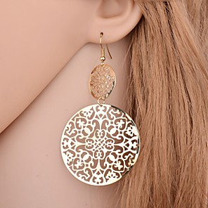 cheap Earrings-Women's Earrings Classic Tree of Life Love Statement Rock Earrings Jewelry Gold / Silver / Black / Silver For Daily Holiday 1 Pair