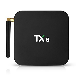 cheap TV Boxes-TX6 Android 7.1 Allwinner H6 4GB 32GB Quad Core