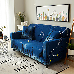 cheap Sofa Cover-Sofa Cover Ice and Snow Print Printed Polyester Slipcovers