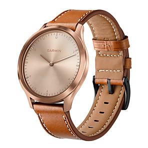 cheap Wedding Wraps-Watch Band For Garmin Vivomove HR 20mm Genuine Leather Bracelet Watches