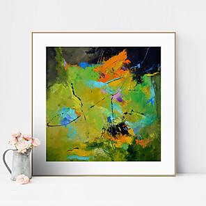 cheap Framed Arts-Framed Art Print Framed Canvas Prints - Abstract PS Oil Painting Wall Art