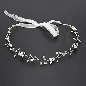 cheap Hair Jewelry-Women's Ladies Trendy Fashion Rhinestone Solid Colored