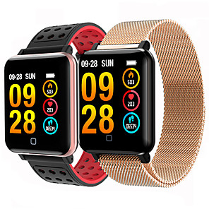 cheap Smartwatches-M19S Smart Band Big Screen Blood Pressure Heart Rate Smart Bracelet Sports Pulse Meter Swimming Wristband Waterproof smartwatch