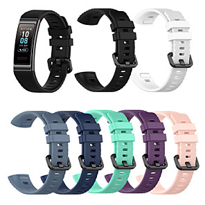 cheap Smartwatch Bands-For Huawei 3 Band 3 Pro New Replacement Band Silicone Bracelet Wristband Strap