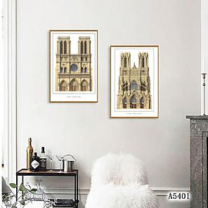 cheap Framed Arts-Framed Art Print Framed Set - Landscape Travel PS Photo Wall Art