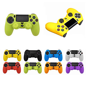cheap Video Game Accessories-LITBest Game Controller Case Protector For PS4 / Sony PS4 / PS4 Slim ,  Game Controller Case Protector Silicone 1 pcs unit