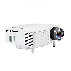 cheap Projectors-UC28B Mini Portable LED Projector 1080P LCD Multimedia Home Cinema Theater USB TF LED Beamer Projector for Home Use