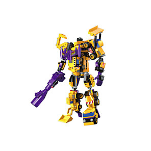 cheap Building Blocks-Building Blocks Educational Toy Transformer Toys 1 pcs compatible Plastic Shell Legoing Hand-made Police car Helicopter All Toy Gift