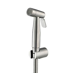 cheap Bidet Faucets-Bidet Faucet BrushedToilet Handheld bidet Sprayer Self-Cleaning Contemporary