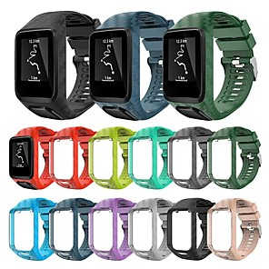 cheap Smartwatch Bands-Watch Band for TomTom Touch / TomTom Adventurer / TomTom Golfer 2 TomTom Classic Buckle Silicone Wrist Strap