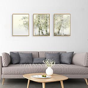 cheap Framed Arts-Framed Art Print Framed Set - Landscape Botanical PS Illustration Wall Art