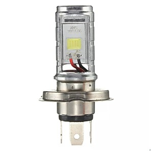 cheap Car Fog Lights-H4 12V-80V Motorcycle 6500K LED Hi/Lo Beam Headlights Front Light Bulb Headlamp