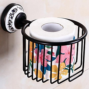 cheap Bathroom Shelves-Toilet Brush Holder Creative Modern Brass 1pc Wall Mounted