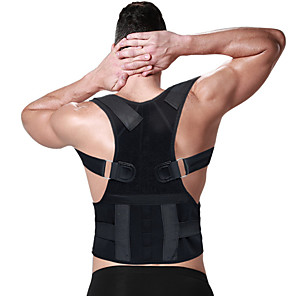 cheap Fitness Gear & Accessories-Shoulder Brace / Shoulder Support Posture Trainer Poly / Cotton Wearproof Lightweight Posture Corrector Yoga Inversion Exercises Fitness For Men's Women's Waist Shoulder Waist & Back / Adults'