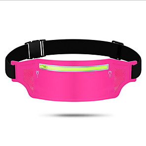cheap Running Bags-Running Belt Fanny Pack Running Waist Belt for Running Outdoor Exercise Outdoor Sports Bag Portable Lightweight Durable Tactel Cotton Running Bag Adults