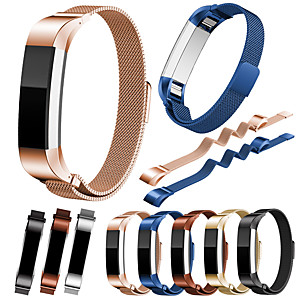cheap Smartwatch Bands-Watch Band for Fitbit Alta HR / Fitbit Alta Fitbit Milanese Loop Stainless Steel Wrist Strap