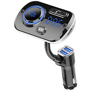 cheap Car DVD Players-YuanYuanBenBen Bluetooth 5.0 FM Transmitter / Bluetooth Car Kit Car Handsfree Bluetooth / QC 3.0 / MP3 Car