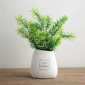cheap Artificial Plants-Artificial Plants Polyester Modern Contemporary Irregular Tabletop Flower Irregular 1