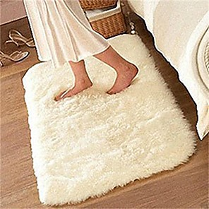 cheap Pillow Covers-Soft Fluffy Rugs Anti Skid Shaggy Rug Dining Room Home Bedroom Carpet Floor Mat