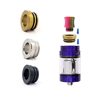 cheap Vapor Accessories-YUHETEC 810 To 510 Stainless Steel Drip Tip Adapter 3PCS