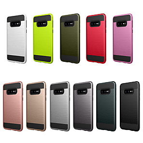 cheap Samsung Case-Case For Samsung Galaxy S10e Dustproof / Frosted Back Cover Solid Colored PC