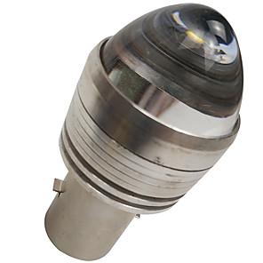 cheap Motorcycle Lighting-OTOLAMPARA Super Lightness DC 6V-12V Motorcycle Headlamp LED Bulb BA20D White Color