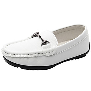 cheap Clutches & Evening Bags-Boys' / Girls' Comfort Nappa Leather Loafers & Slip-Ons Little Kids(4-7ys) / Big Kids(7years +) White / Black Spring / Fall / Rubber