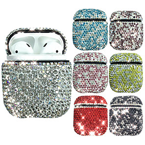 cheap Sleeves,Cases & Covers-Protective Cover Case Simple Style Apple Airpods 2 Shockproof Scratch-proof Silicon Rubber